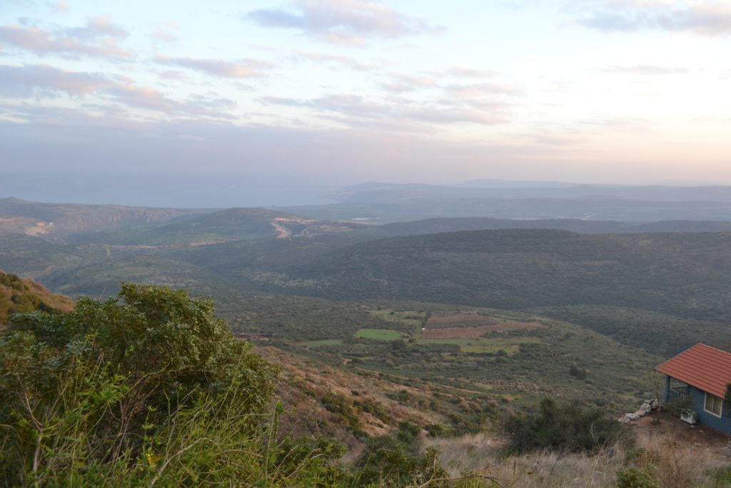 the view from Amirim