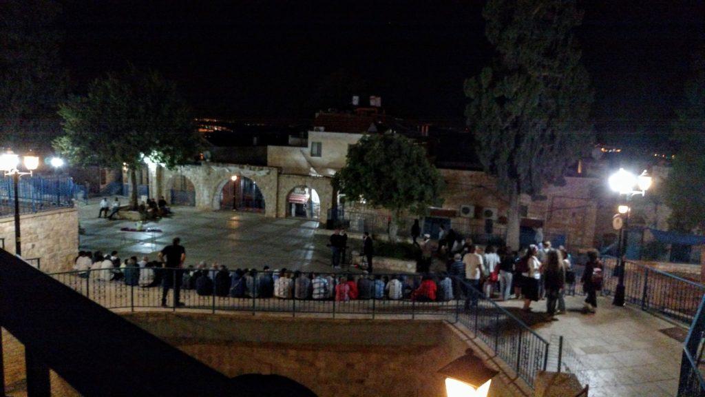 Selichot at the Ma'ayan HaRadum